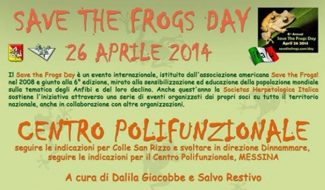 Save the Frogs Day 2014